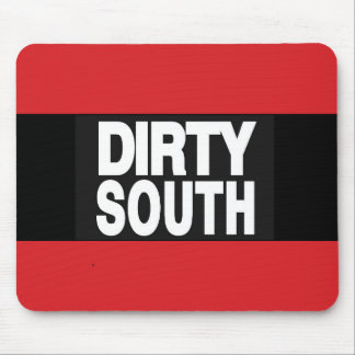 Dirty South 2 Red Mouse Pad
