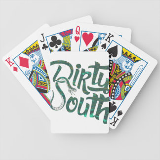Dirty South Snakes Poker Deck