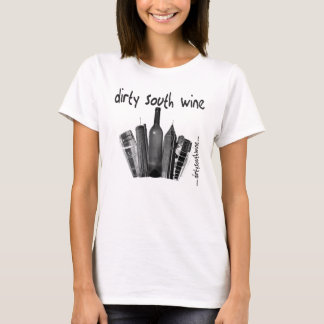 Dirty South Wine Ladies T (w/ back text) T-Shirt