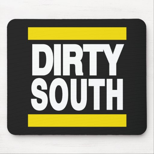 Dirty South Yellow Mouse Pad