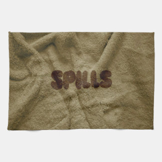 Dirty Spills Kitchen Towel