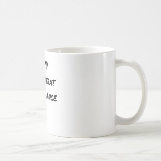 DIRTY, the CONTRACT OF MISTRUST - Word games Coffee Mug