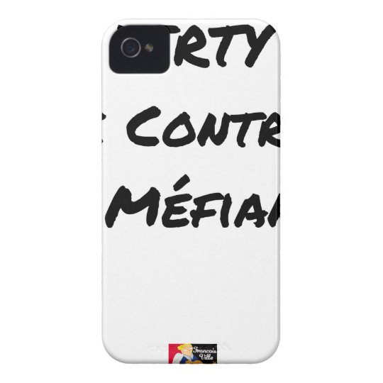 DIRTY, the CONTRACT OF MISTRUST - Word games iPhone 4 Case-Mate Case