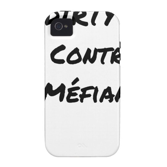 DIRTY, the CONTRACT OF MISTRUST - Word games iPhone 4 Covers