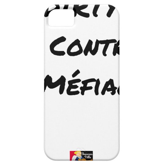 DIRTY, the CONTRACT OF MISTRUST - Word games iPhone 5 Case