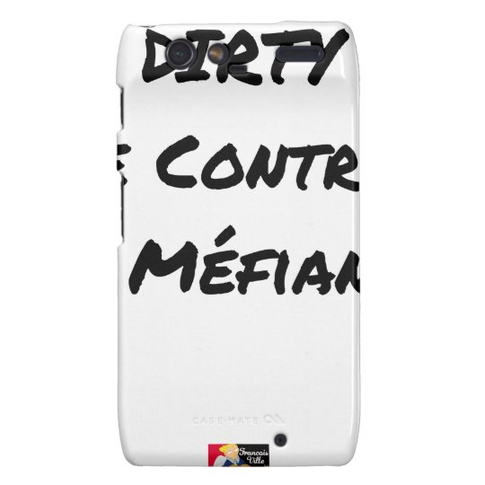 DIRTY, the CONTRACT OF MISTRUST - Word games Motorola Droid RAZR Covers