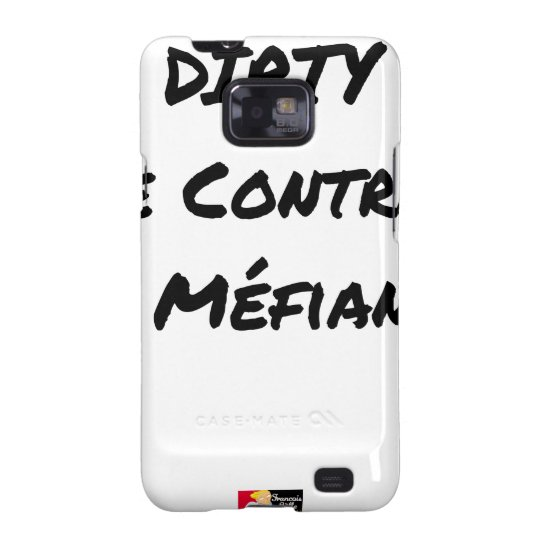 DIRTY, the CONTRACT OF MISTRUST - Word games Samsung Galaxy SII Covers