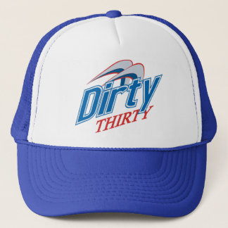 Diry Thirty Meshy Trucker Hat