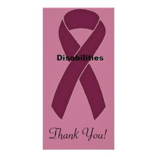 Disabilities Photo Card