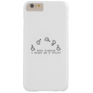 Disability Awareness Gift Wheelchair Funny Barely There iPhone 6 Plus Case