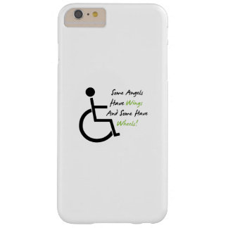 Disability Awareness Gift Wheelchair Love Support Barely There iPhone 6 Plus Case