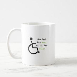 Disability Awareness Gift Wheelchair Love Support Coffee Mug