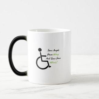 Disability Awareness Gift Wheelchair Love Support Magic Mug