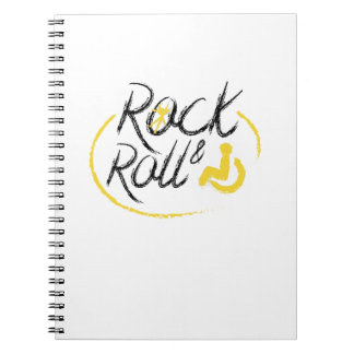 Disability Awareness Love Wheelchair Fun Low Rider Notebook