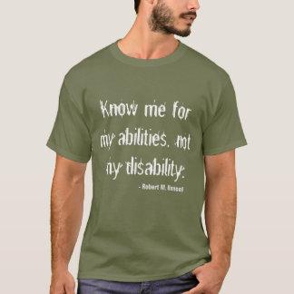 Disability Awareness T-shirt