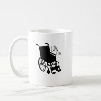 Disability Awareness Wheelchair Funny Low Rider Coffee Mug