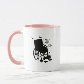 Disability Awareness Wheelchair Funny Low Rider Mug