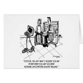 Disability Cartoon 1795 Card