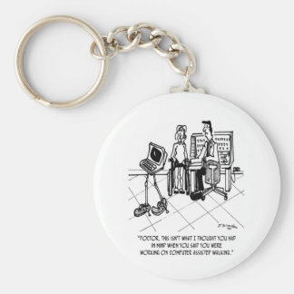 Disability Cartoon 1795 Keychain