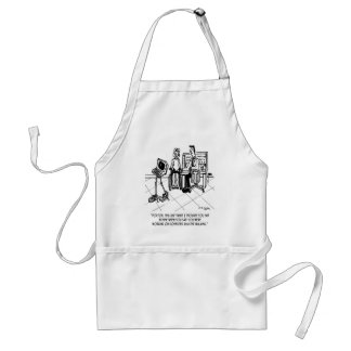 Disability Cartoon 1795 Standard Apron