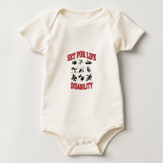 disability set for life baby bodysuit