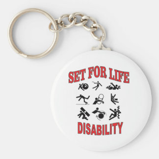 disability set for life keychain