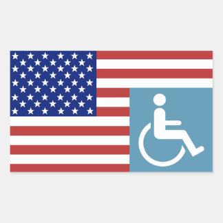Disabled American Veteran Sticker