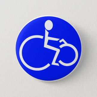 disabled biker products 2 inch round button