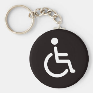 Disabled symbol keychain