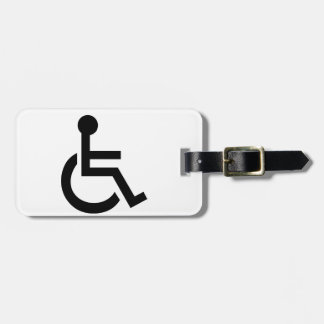 Disabled Symbol Luggage Tag