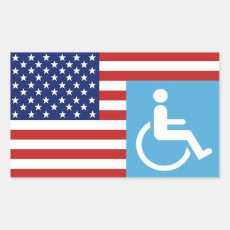 Disabled War Vet. Sticker
