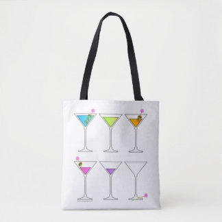DISAPPEARING MARTINI TOTE BAG
