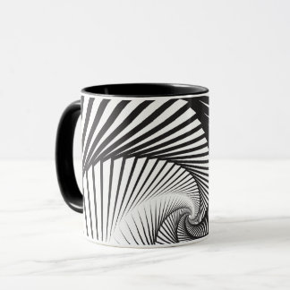 Disappearing Staircase Pattern Mug