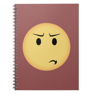 Disappointed Moji Notebook