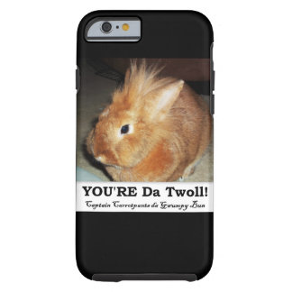 Disapproving Bunny Rabbit Troll iPhone Case
