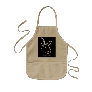 Disapproving Rabbits Apron