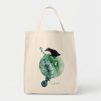 Disassembled Tears Grocery Tote