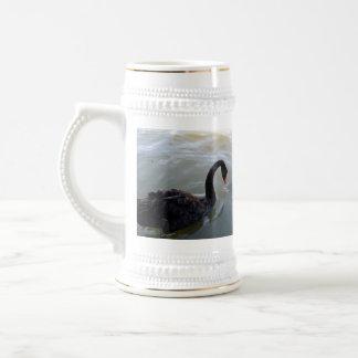 Disbelief,_Black_Swan_Giant Fish_Beer_Stein_Mug Beer Stein
