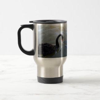 Disbelief,_Black_Swan_Giant Fish_Travel_Coffee_Mug Travel Mug