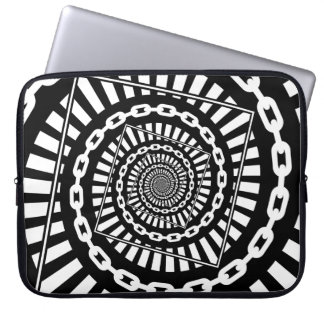 Disc Golf Chains Laptop Sleeve