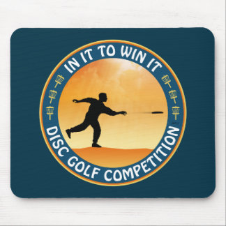 Disc Golf Competition Mouse Pad