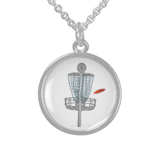 Disc Golf Customizable Locket Necklace