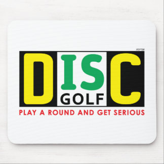 Disc Is Golf Mouse Pad