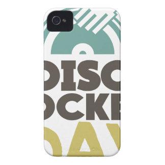 Disc Jockey Day - Appreciation Day iPhone 4 Case-Mate Case
