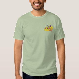 Disc Jockey Logo Embroidered T-Shirt