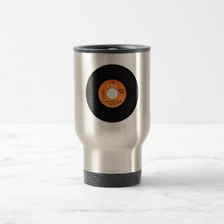 Disc single travel mug