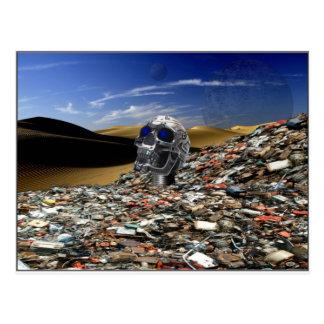 Discarded Junk Postcard