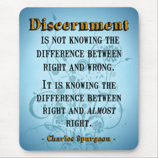 Discernment Mouse Pad