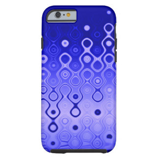 Discharges in Dots (ultramarine) Tough iPhone 6 Case
