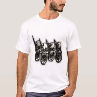 Disciples of Power 4 Skulls T-Shirt
